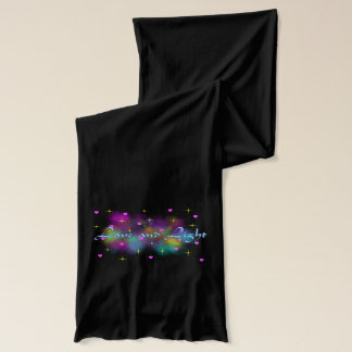 Love and light scarf