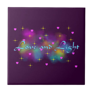 Love and light tile