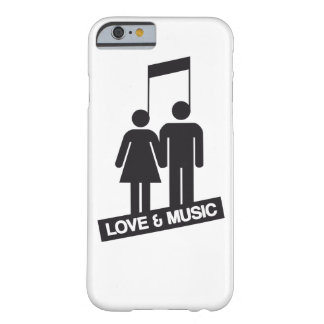 Love and music barely there iPhone 6 case
