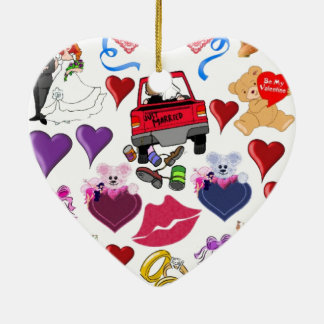 Love and Romance Christmas Ornament