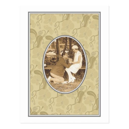 Love and romance post card