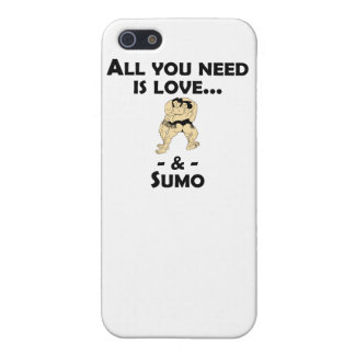 Love And Sumo Case For iPhone 5/5S