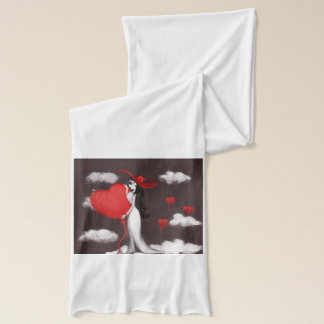 Love and valenitne scarf