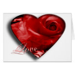 Love And Valentine Greeting Card