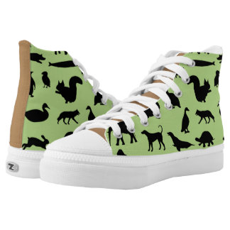 Love Animals High Tops