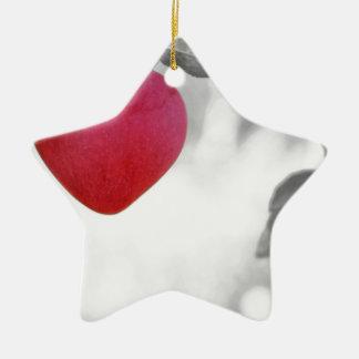 Love Apple Christmas Ornament