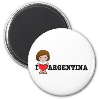Love Argentina Magnet