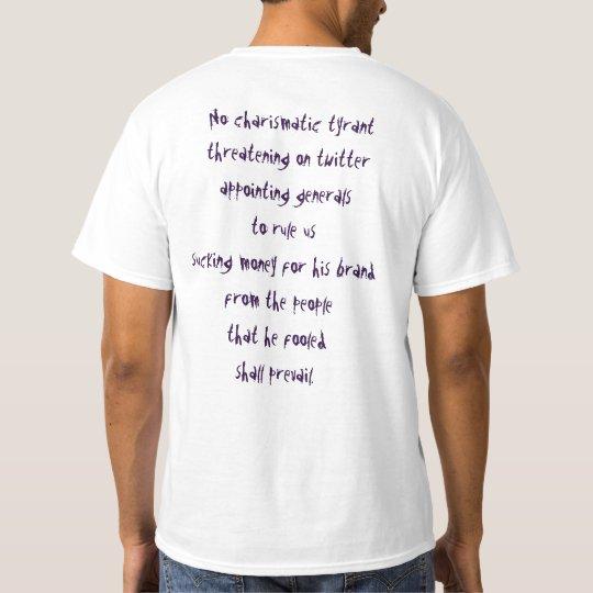 Love Army No Tyrant T shirt