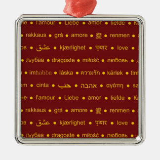 Love around the World Christmas Ornament