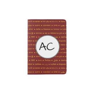 Love Around The World Passport Holder