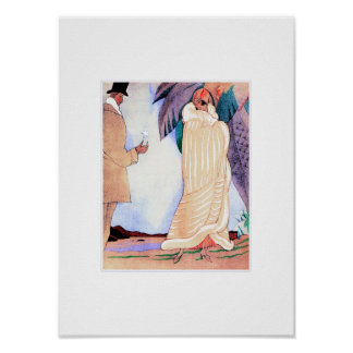 Love. Art Deco Art Poster