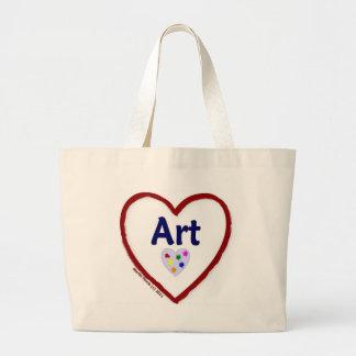 Love Art Jumbo Tote Bag