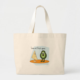 Love At First Guac Tote Bags