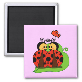 Love at first sight square magnet