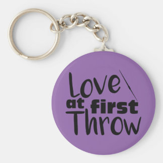 Love at First Throw, Javelin Throw Keychain