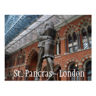 Love at St. Pancras - London Postcard