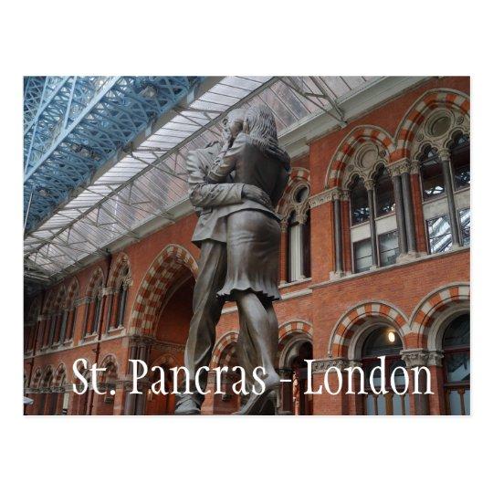 Love at St. Pancras - London Postcard
