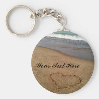 Love at the Beach Keychain