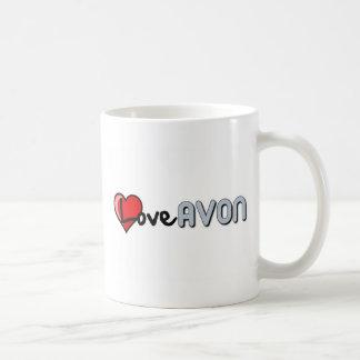 Love AVON Basic White Mug