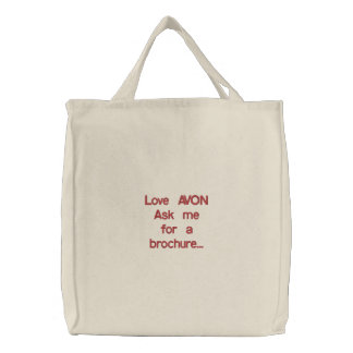 Love AVON Tote Bag
