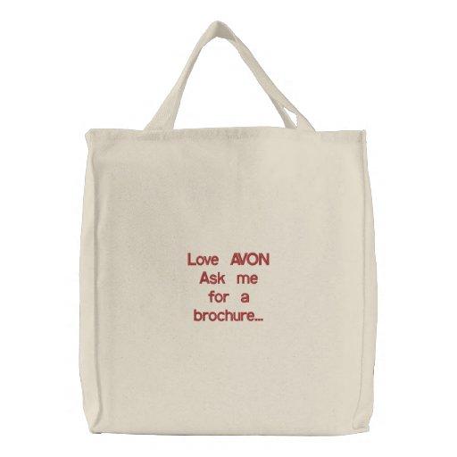 Love AVON Tote Bag