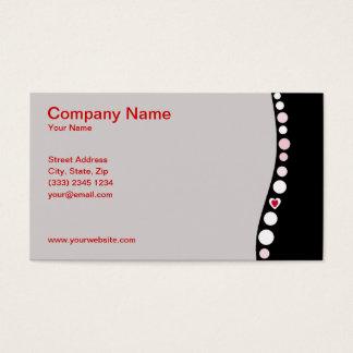 Love backs business card