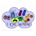Love Bacteria Postcard