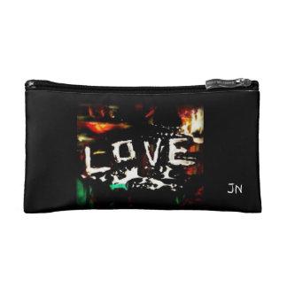 Love bag cosmetic bag