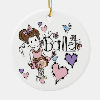 Love Ballet Christmas Ornament