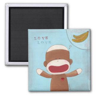 Love & Bananas Magnet
