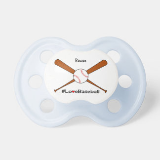 Love baseball add name sporting dummy