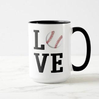 Love Baseball Mug