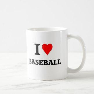 Love baseball coffee mugs