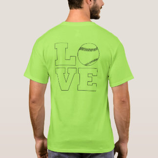 Love Baseball / Softball Men's T-Shirt