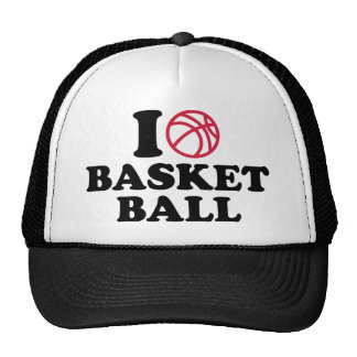 love Basketball ball Cap
