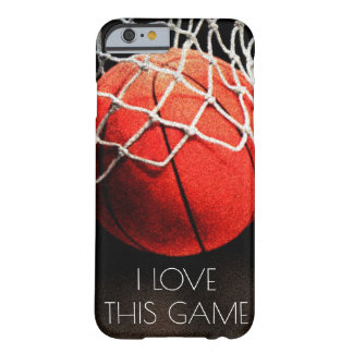 Love Basketball Game Barely There iPhone 6 Case