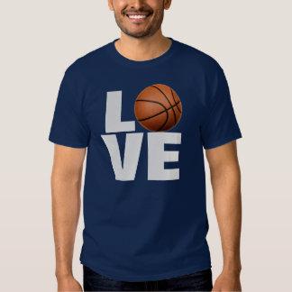 Love Basketball T-Shirt - Navy Blue Sport Tees