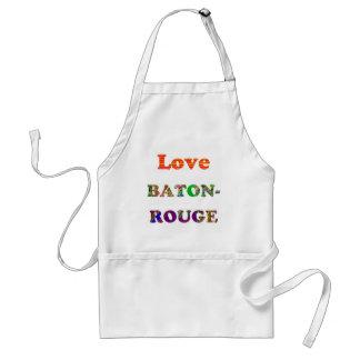 Love BATON ROUGE Louisiana Apron