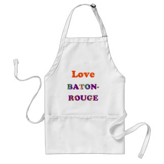 Love BATON ROUGE  Louisiana Standard Apron