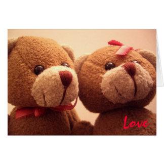 Love Bear Greeting Card