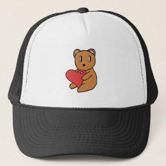 Love bear trucker hat