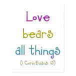 """""""Love bears all things"""""""