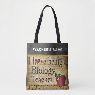 Love Being a Biology Teacher | DIY Name Tote Bag
