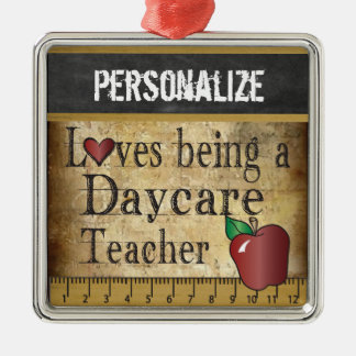 Love being a Daycare Teacher | Vintage Christmas Ornament