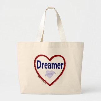 Love Being a Dreamer Jumbo Tote Bag