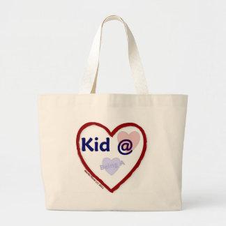 Love Being a Kid @ Heart Canvas Bag