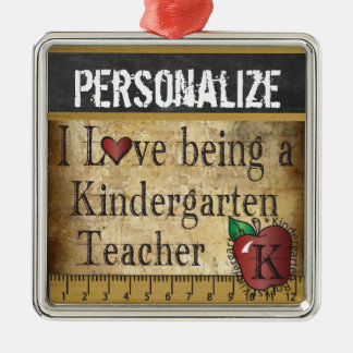 Love being a Kindergarten Teacher | Vintage Christmas Ornament