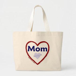 Love Being A Mom Jumbo Tote Bag