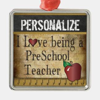 Love being a Preschool Teacher | Vintage Christmas Ornament
