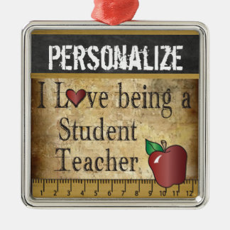 Love being a Student Teacher | Vintage Christmas Ornament